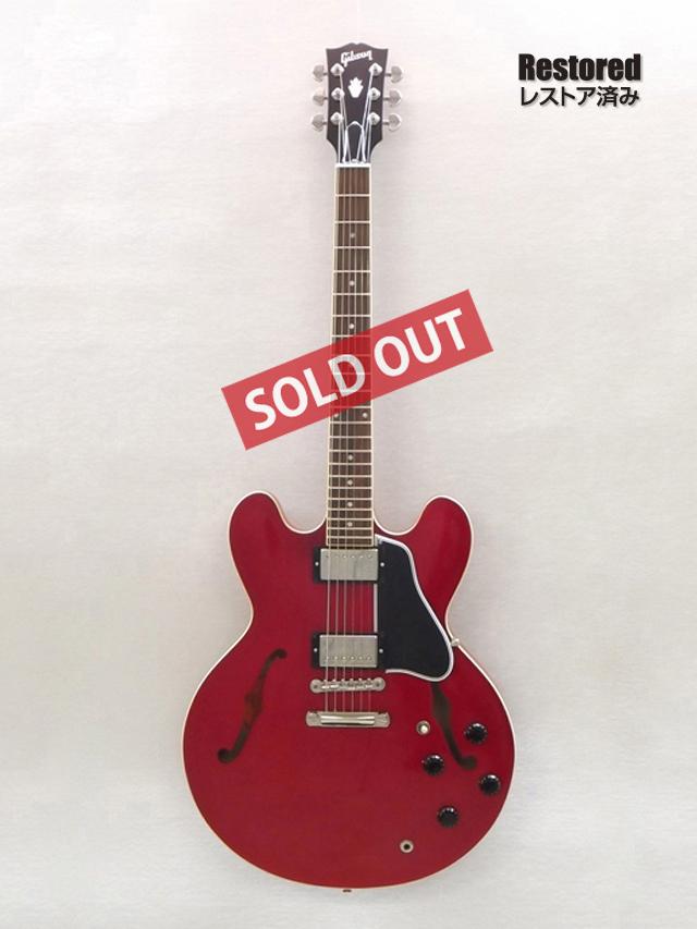 2010年 Gibson ES335【製後8歳】