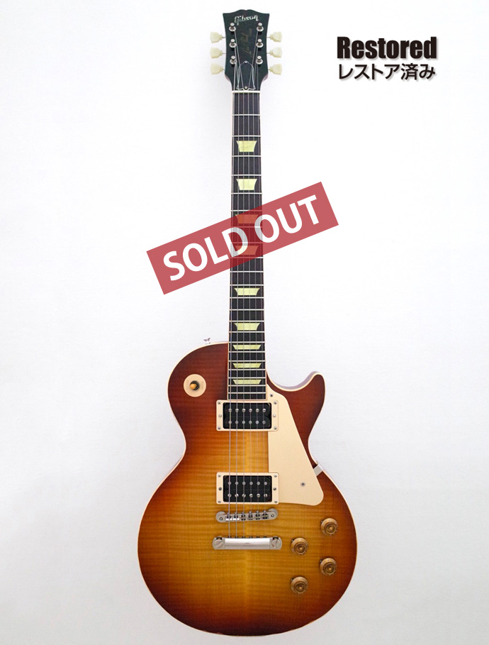 2000年 Gibson Les Paul Classic Plus【製後18歳】