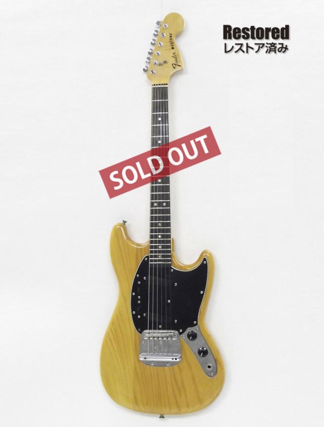 1978年 Fender Mustang【製後40歳】