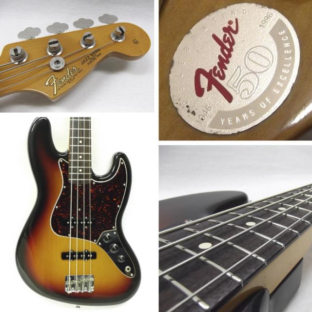 1996年 Fender Jazz Bass 50周年記念モデル