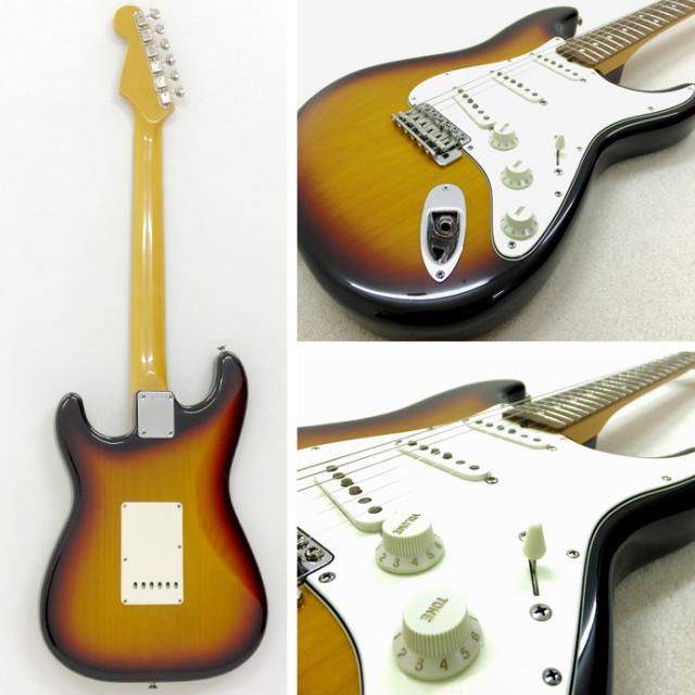 1993年 Fender Stratocaster 3tone Sunburst