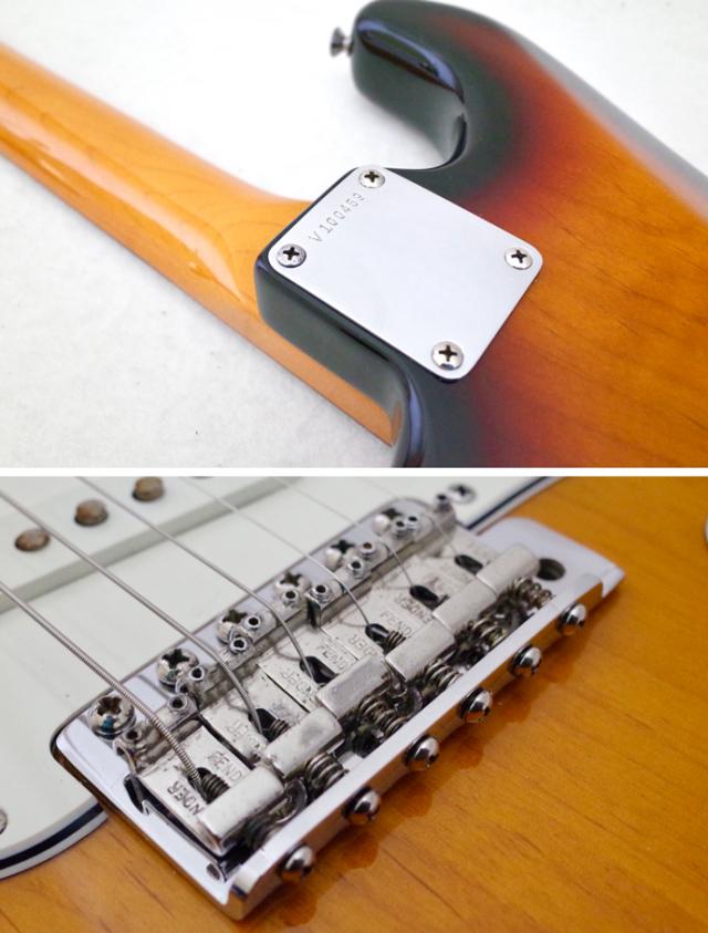 Fender Stratocaster 3tone Sunburs