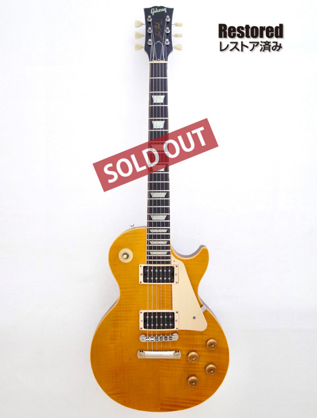 1992年 Gibson Les Paul Classic Plus【製後26年】