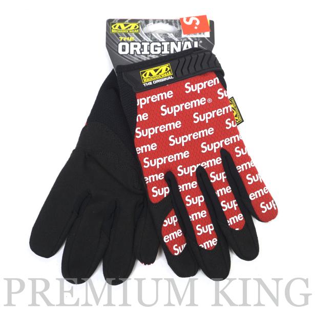 国内正規品 2017SS Supreme Mechanix Original Work Gloves Red 新品未使用品 [ シュプリーム メカニックス オリジナル ワーク グローブ レッド 赤 ]