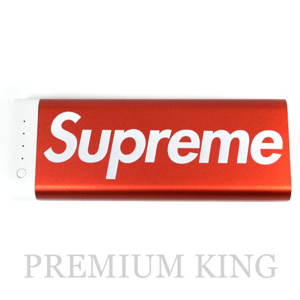 国内正規品 2017AW Supreme × Mophie Encore Plus 20k Red 新品未使用品 [ シュプリーム モーフィー アンコール プラス モバイル バッテリー 充電器 レッド 赤 ]