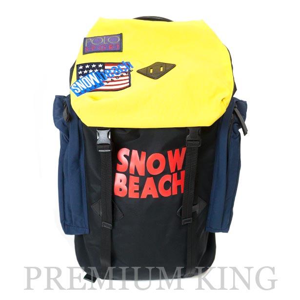 国内正規品 2018 復刻版 POLO RALPH LAUREN The Snow Beach Collection The Snow Beach Backpack Multi 新品未使用品 [ ポロ ラルフローレン ザ スノービーチ コレクション バックパック マルチカラー ]