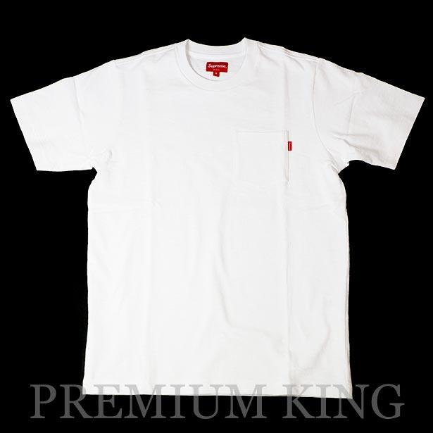 国内正規品 2016SS Supreme Pocket Tee White 新品未使用品 [ シュプリーム ポケット Tシャツ ホワイト 白 ]