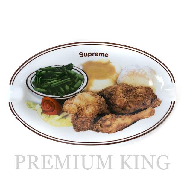 国内正規品 2018SS Supreme Chicken Dinner Plate Ashtray White 新品未使用品 [ シュプリーム チキン ディナー プレート アシュトレー ホワイト]