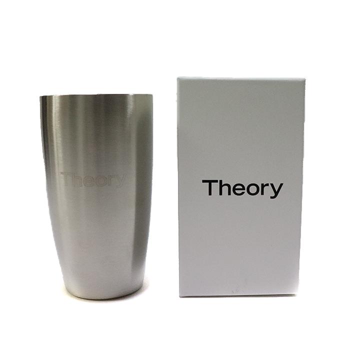 正規品 Theory GLASS SILVER 新品未使用品 [ セオリー グラス カップ シルバー 銀 ]