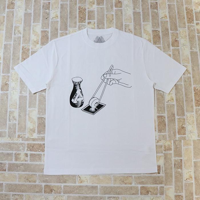 正規品 2018AW PALACE CHOPSTICK T-SHIRT WHITE 新品未使用品 [ パレス チョップスティック Tシャツ ホワイト 白 ]