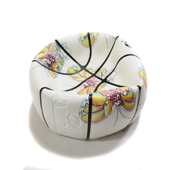 正規品 2016SS  Supreme × Spalding Gonz Butterfly Basketball White 新品未使用品 [ シュプリーム スポルディング ゴンズ バタフライ バスケットボール ホワイト 白 ]
