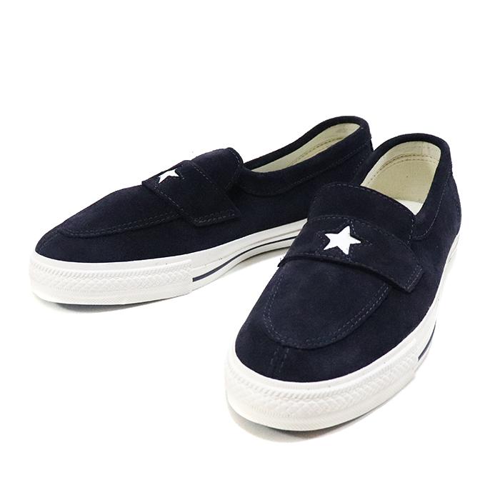 国内正規品 2018AW Converse Addict ONE STAR LOAFER Navy 新品未使用品 [ コンバース アディクト ワンスター ローファー ネイビー 紺 ]