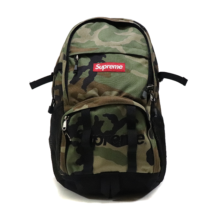 正規品 2015SS Supreme Backpack Camo 新品同様品 [ シュプリーム バックパック 迷彩 カモ ]