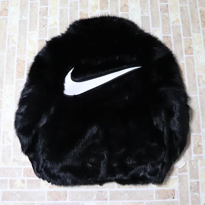 国内正規品 2018AW NIKE x AMBUSH Women's Reversible Faux Fur Coat Black 新品未使用品 [ ナイキ アンブッシュ ウーマンズ リバーシブル フェイクファー コート ]