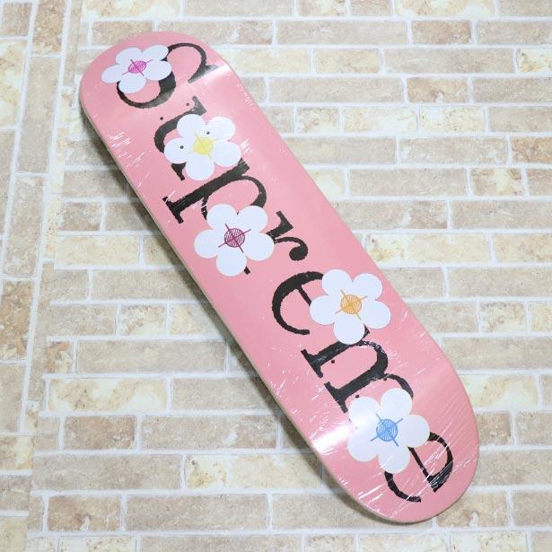 正規品 2017SS Supreme Flowers Skateboard Pink 新品未使用品 [ シュプリーム フラワー スケートボード デッキ ピンク ]
