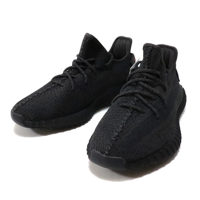 """国内正規品 adidas Originals by KANYE WEST YEEZY BOOST 350 V2 """"Reflective"""" Black/Black-Black FU9007 新品未使用品 [ アディダス オリジナル カニエ ウェスト イージー ブースト リフレクティブ ブラック 黒  ]"""