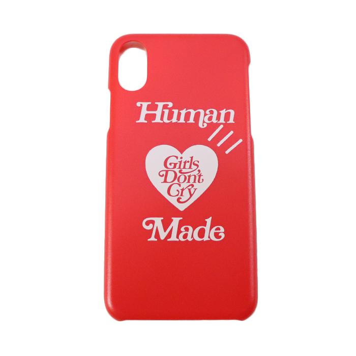 国内正規品 2019SS HUMAN MADE × Girls Don't Cry iPhone CASE Red 新品未使用品 [ ガールズ ドント クライ ヒューマンメイド アイフォン ケース レッド 赤 ]