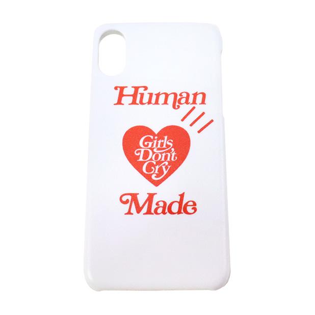 国内正規品 2019SS HUMAN MADE × Girls Don't Cry iPhone CASE White 新品未使用品 [ ガールズ ドント クライ ヒューマンメイド アイフォン ケース ホワイト 白 ]