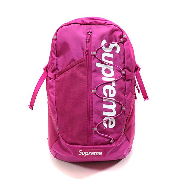 正規品 2017SS Supreme 210D Cordura ripstop nylon 20L Backpack Pink 美中古品 [ シュプリーム コーデュラ リップストップ ナイロン バックパック ピンク ]