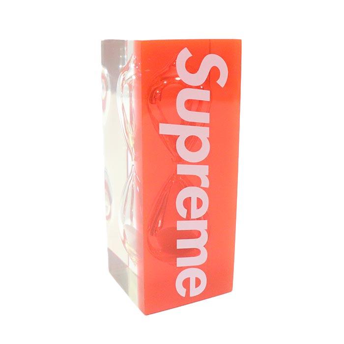 国内正規品 2015SS Supreme Sand Timer Red 新品未使用品 [ シュプリーム サンド タイマー 砂時計 レッド 赤 ]