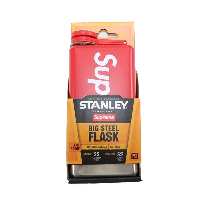 国内正規品 2017SS Supreme Stanley Adventure Flask Red 新品未使用品 [ シュプリーム スタンレー アドベンチャー フラスク レッド 赤 ]