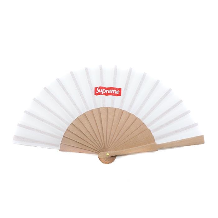 国内正規品 2016SS Supreme × Sasquatchfabrix Folding Fan White 新品未使用品 [ シュプリーム サスクワッチファブリックス フォルディング ファン 扇子 ホワイト 白 ]
