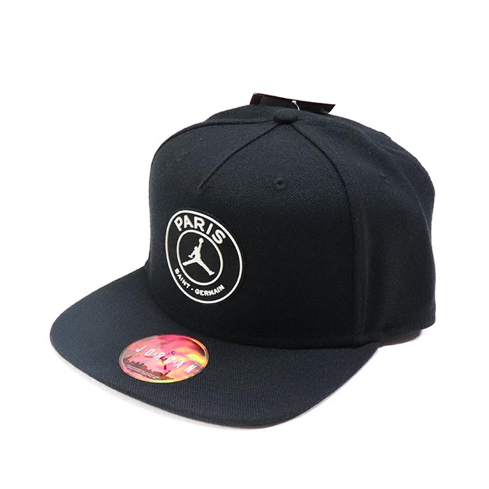 8460952f85d 正規品 2018 19 NIKE Paris Saint-Germain AIR JORDAN Pro Cap Black ...