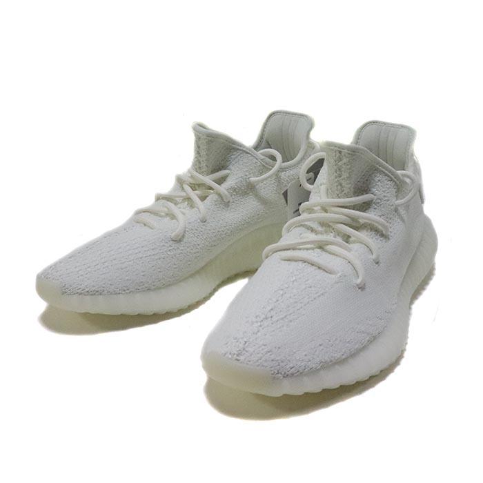 国内正規品 adidas Originals by KANYE WEST Yeezy Boost 350 V2 CREAM WHITE/CREAM WHITE CP9366 新品未使用品 [ アディダス オリジナル カニエ ウェスト イージー ブースト クリーム ホワイト 白 ]