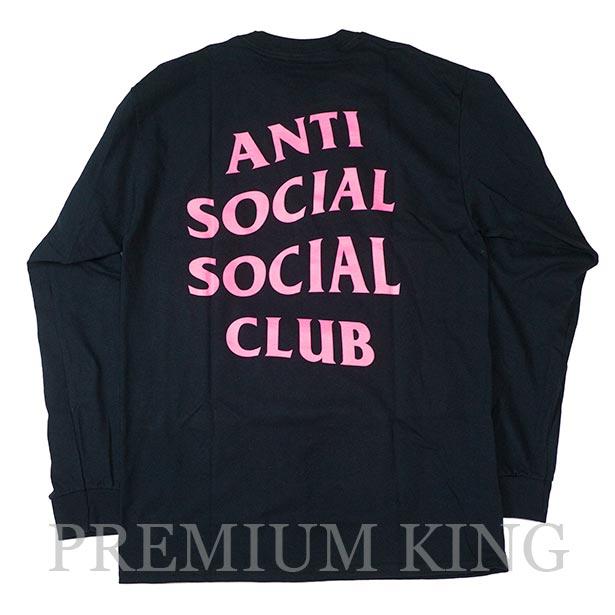 正規品 ANTI SOCIAL SOCIAL CLUB GET WEIRDER BLACK LS Tee 新品未使用品 [ ASSC アンチ ソーシャル ソーシャル クラブ ロングスリーブ Tシャツ ]