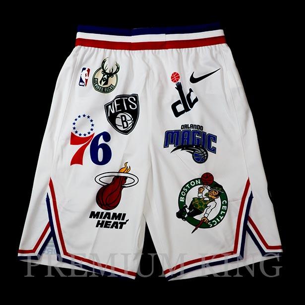 国内正規品 2018SS Supreme/Nike/NBA Teams Authentic Short White 新品未使用品 [ シュプリーム ナイキ エヌビーエー チーム オーセンティック ショーツ ホワイト 白 AQ4231-100 ]