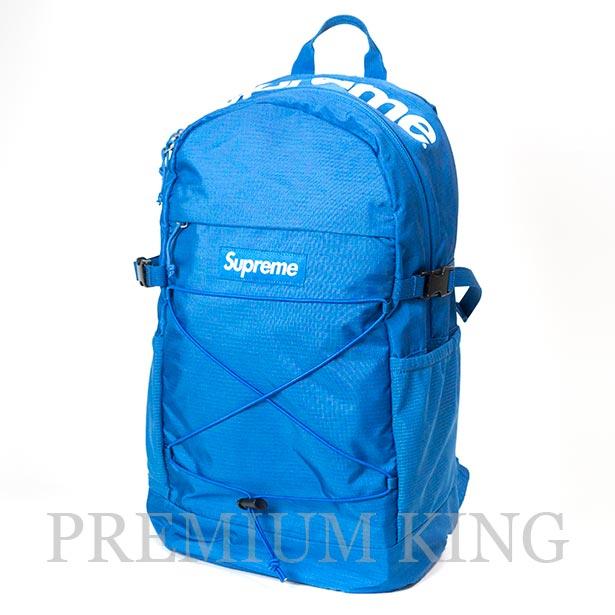 国内正規品 2016SS Supreme Tonal Backpack 210 Denier Cordura Blue 美中古品 [ シュプリーム コーデュラ バックパック ブルー 青 ]