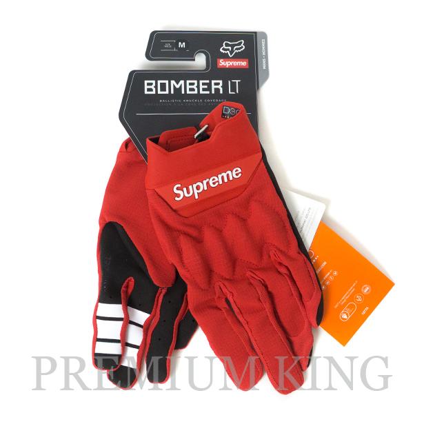 国内正規品 2018SS Supreme Fox Racing Bomber LT Gloves Red 新品未使用品 [ シュプリーム フォックスレーシング ボンバー グローブ レッド ]