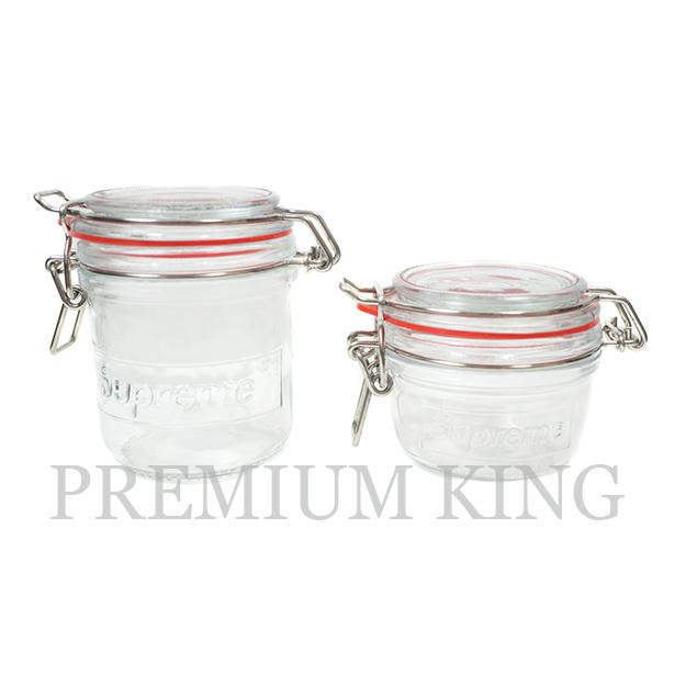 国内正規品 2018SS Supreme Supreme Jar Set (Set of 2) Red 新品未使用品 [ シュプリーム ジャーセット 2個 レッド ]