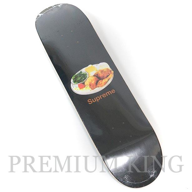 国内正規品 2018SS Supreme Chicken Dinner Skateboard Black 新品未使用品 [ シュプリーム チキン ディナー スケートボード ブラック 黒 ]
