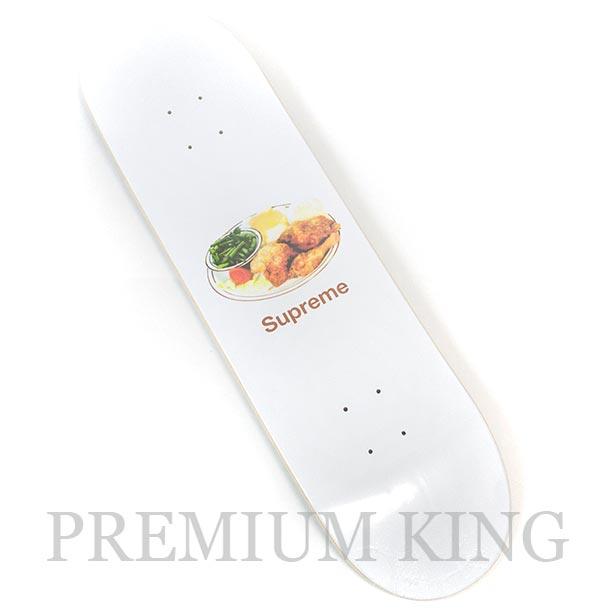 国内正規品 2018SS Supreme Chicken Dinner Skateboard White 新品未使用品 [ シュプリーム チキン ディナー スケートボード ホワイト 白 ]