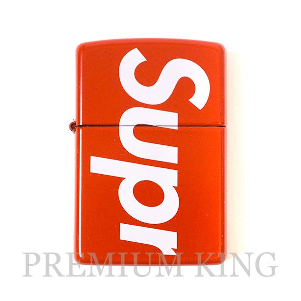 国内正規品 2018SS Supreme Logo Zippo Red 新品未使用品 [ シュプリーム ロゴ ジッポ レッド ]