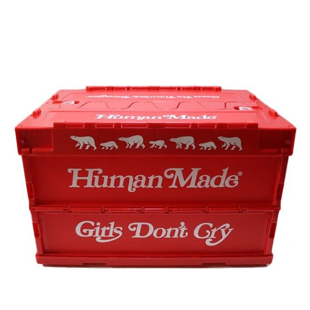 国内正規品 2019SS HUMAN MADE × Girls Don't Cry CONTAINER 50L RED 新品未使用品 [ ヒューマンメイド ガールズ ドント クライ コンテナ レッド 赤 ]