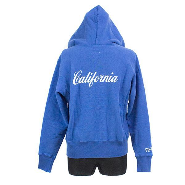 2015SS RHC Ron Herman × Champion REVERSE WEAVE zip hoodie BLUE 未使用品 [ ロンハーマン チャンピオン リバース ウィーブ ジップ フーディー ブルー 青 ]