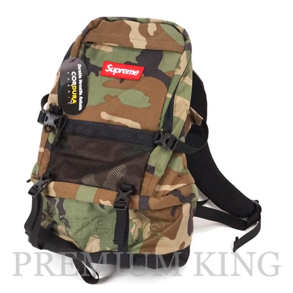 2015FW SUPREME Contour Backpack Camo 新品未使用品[ シュプリーム コントゥア バックパック カモ 迷彩 ]
