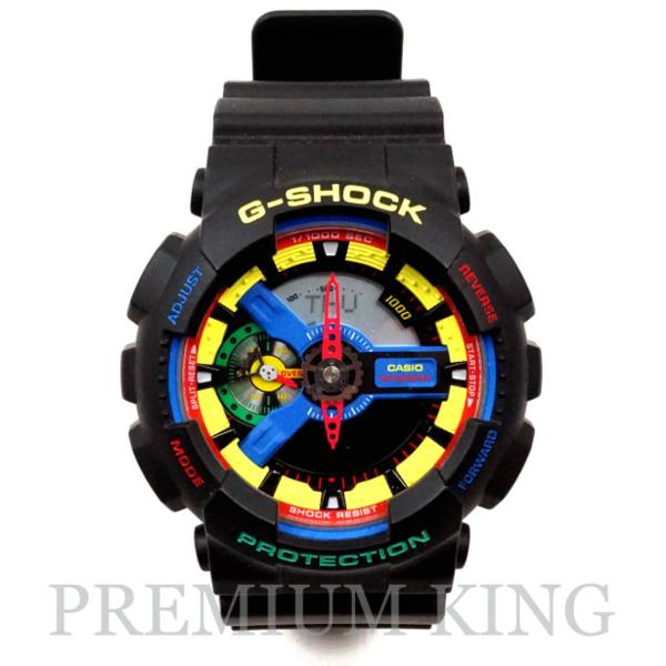 CASIO G-SHOCK Dee & Ricky 別注 BLACK GA-110DR-7AJR 未使用品 [ カシオ Gショック ディ アンド リッキー ブラック 黒 ]