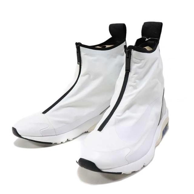 国内正規品 2019 NIKE × AMBUSH AIR MAX 180 HI WHITE/WHITE-PALE GREY BLANC/GRIS PALE/OS CLAIR/BLANC BV0145-100 新品未使用品 [ ナイキ アンブッシュ エア マックス180 ホワイト 白 ]
