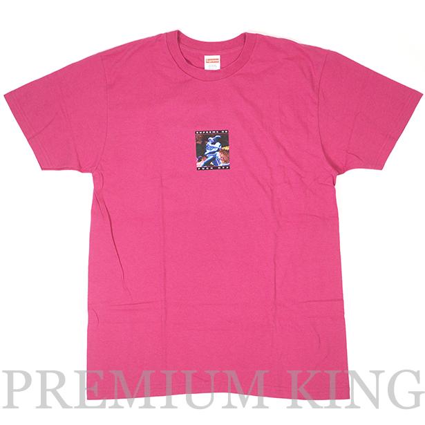 正規品 2017SS Supreme Cyber Tee Pink 新品未使用品 [ シュプリーム サイバー Tシャツ The Lawnmower Man ピンク ]