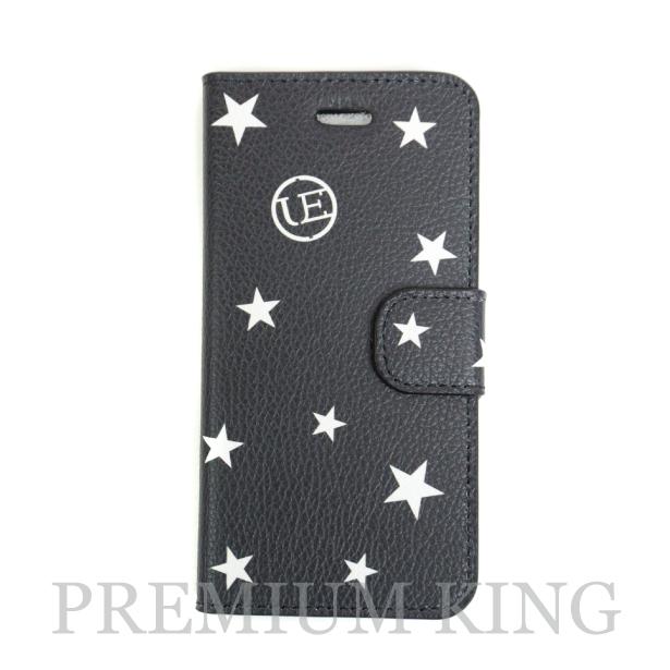 国内正規品 uniform experiment STAR FLIP iPhone6/6S CASE Black 新品未使用品 [ ユニフォーム エクスペリメント スター フリップ アイフォン ケース ブラック 黒 ]