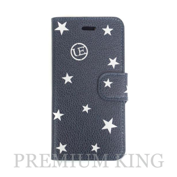 国内正規品 uniform experiment STAR FLIP iPhone6/6S CASE Navy 新品未使用品 [ ユニフォーム エクスペリメント スター フリップ アイフォン ケース ネイビー 紺 ]