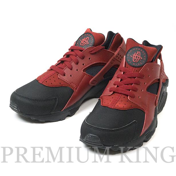 正規品 NIKE AIR HUARACHE RUN PRM GYM RED × BLACK 新品未使用品 [ ナイキ エアハラチ ジム レッド × ブラック 赤 黒 704830-006 ]