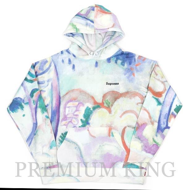 国内正規品 2018SS Supreme Landscape Hooded Sweatshirt Multicolor 新品未使用品 [ シュプリーム ランドスケープ フーデッド スウェット シャツ マルチカラー ]
