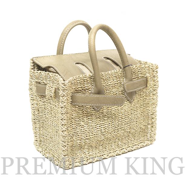 2017 SUMMER SEA Basket Birkin Grege Sサイズ 新品未使用品 [ シー カゴバーキン かごバッグ グレージュ ]