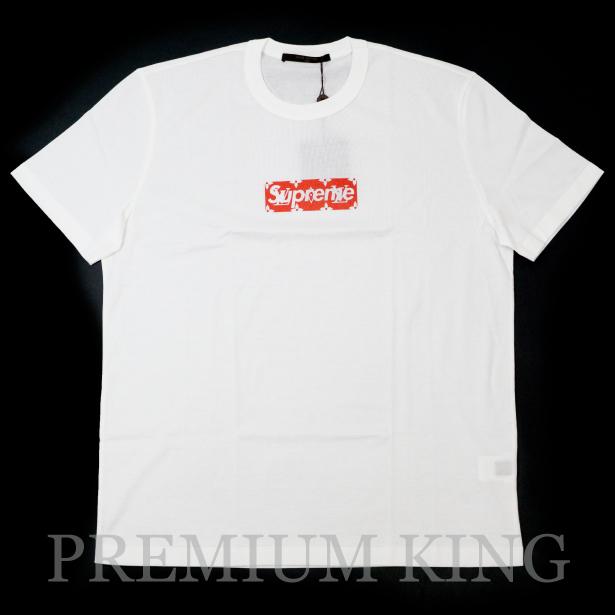 国内正規品 2017-18AW Supreme × LOUIS VUITTON BOX LOGO TEE White 新品未使用品  [ シュプリーム ルイ・ヴィトン ボックス ロゴ Tシャツ ホワイト 白 ]