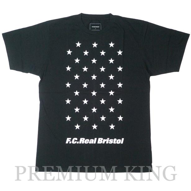国内正規品 2017SS F.C.R.B. 38 STAR TEE BLACK 新品未使用品 [ SOPH. FCRB BRISTOL ソフ 38 スター Tシャツ ブラック 黒 ]