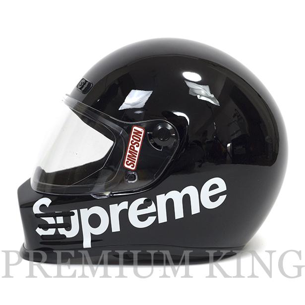 正規品 2016AW Supreme × Simpson Street Bandit Helmet Black 新品未使用品 [ シュプリーム シンプソン ストリート バンディット ヘルメット ブラック 黒 ]